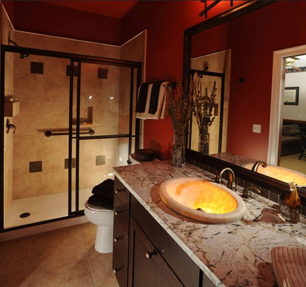 orange-modern-bathroom-decorating-design