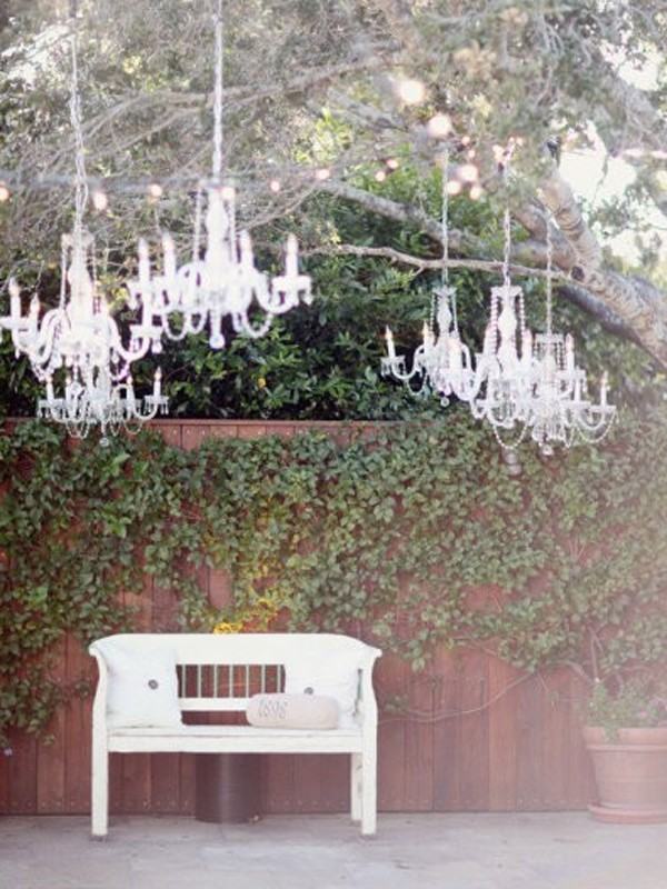 Crystal chandelier for wedding decor gallery of 15 wedding chandeliers for romantic ideas aloadofball Choice Image