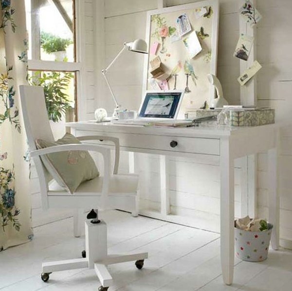 Popular 28 White Small Home Office Ideas  Home Design And Interior