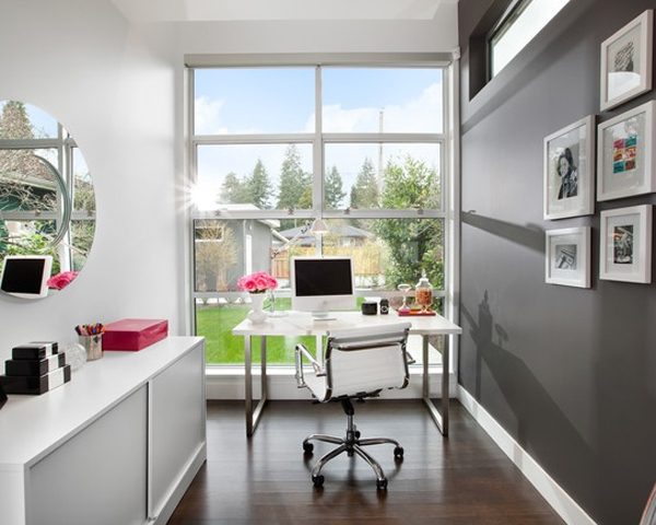 small office decorating ideas. 28 White Small Home Office Ideas Decorating R