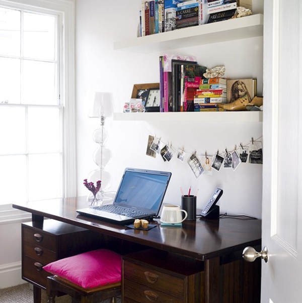 Fortable And Cute Home Office Design Ideas: Cute-and-small-home-office-ideas