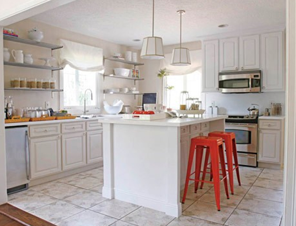 White Kitchen Room Decor