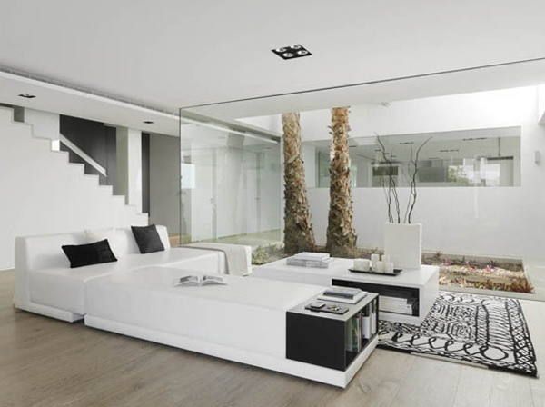 White living room design in luxury homes by sussana cots for White design homes