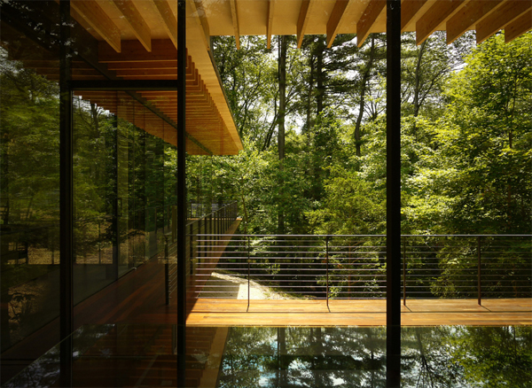 Astonishing Wood House Ideas With Beautiful Glass Decor Largest Home Design Picture Inspirations Pitcheantrous