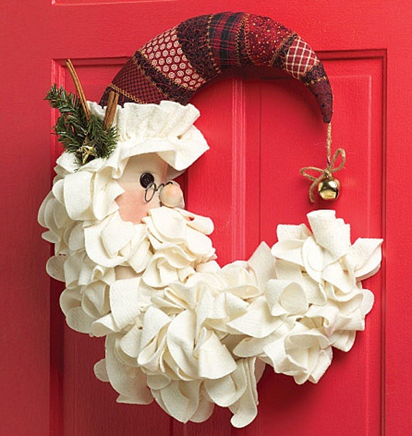 10 awesome christmas door decoration ideas home design for Xmas decoration ideas 2016