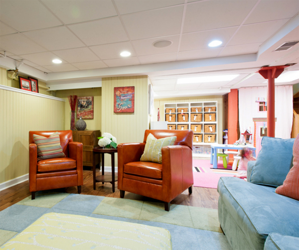 Basement Ideas For Kids kids-finishing-basement-design-ideas