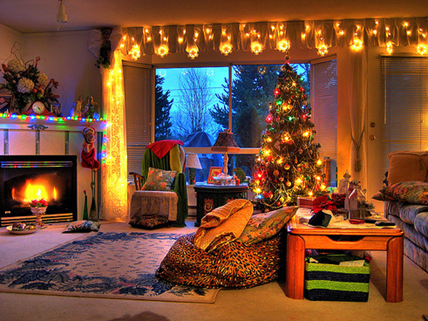 Christmas Tree Living Room