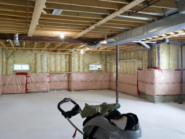basement remodels before and after. After : Basement Remodels Before And