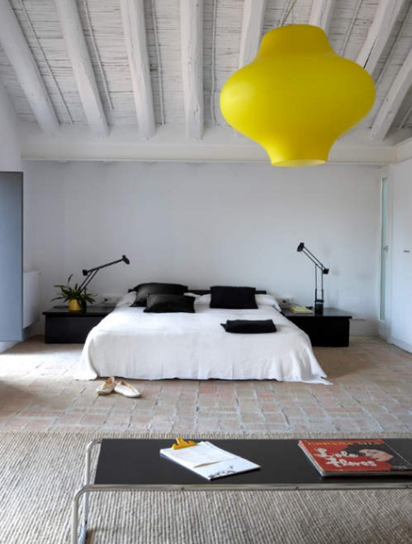 Modern attic bedroom design ideas for Best bedroom designs 2012