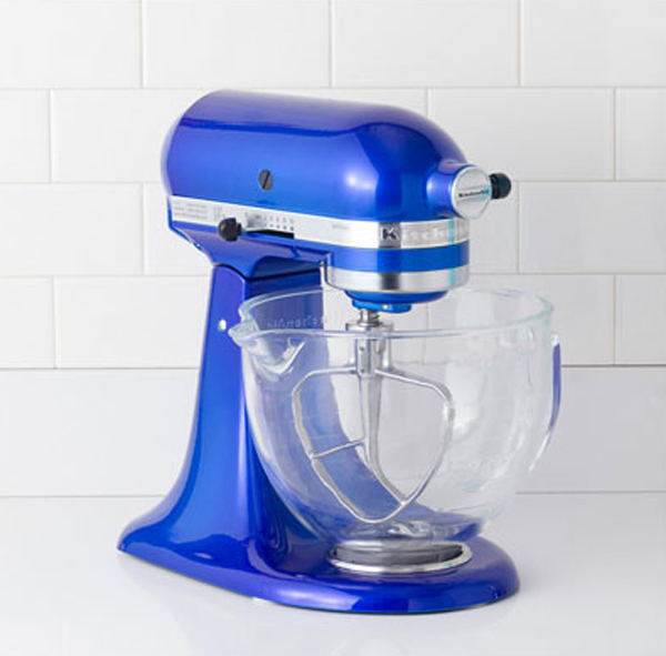 blue mixer kitchen appliances 15 Cool and Colorful Small Kitchen Appliances