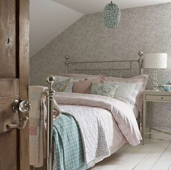 chic and charming bedroom with pastel colour 20 Chic and Charming Pastel Bedroom Ideas