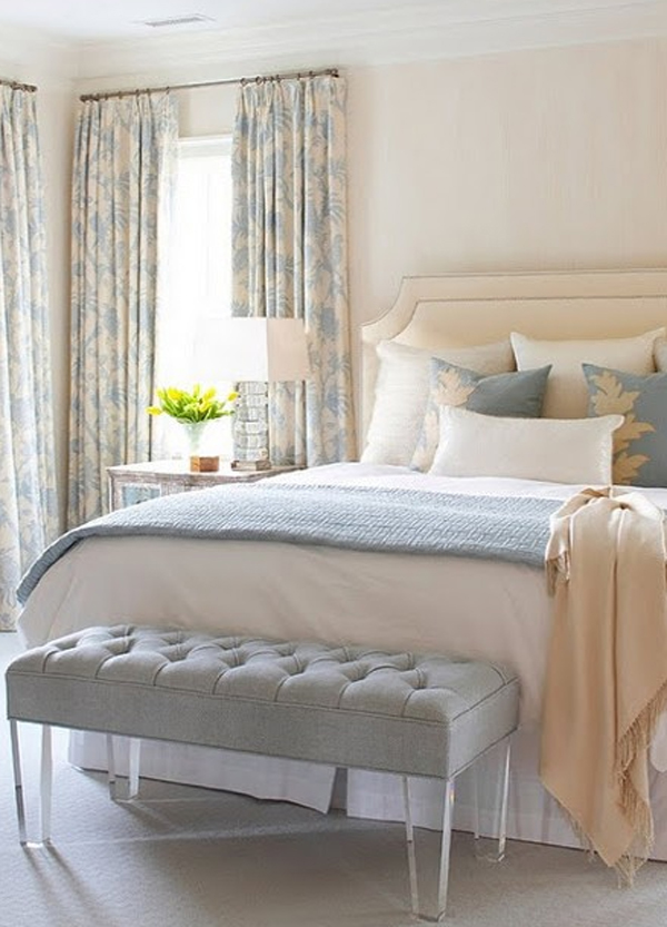 . chic and charming pastel bedroom decorating ideas