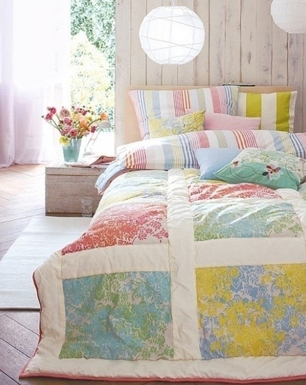 chic and charming pastel bedroom design ideas