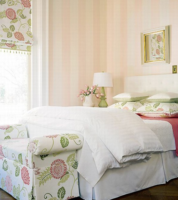 Chic and charming pink pastel bedroom design for Interior design bedroom pink