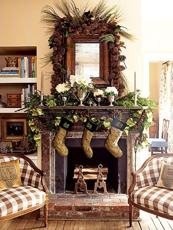 christmas-fireplaces-ornament-ideas
