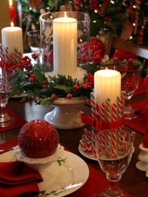 Christmas Table Decorations Ideas Pictures : Christmas table setting ideas