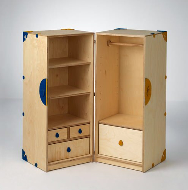 kids play furniture with cabinet designs