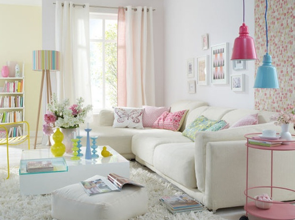 Genial 20 Cool And Amazing Pastel Living Room Ideas