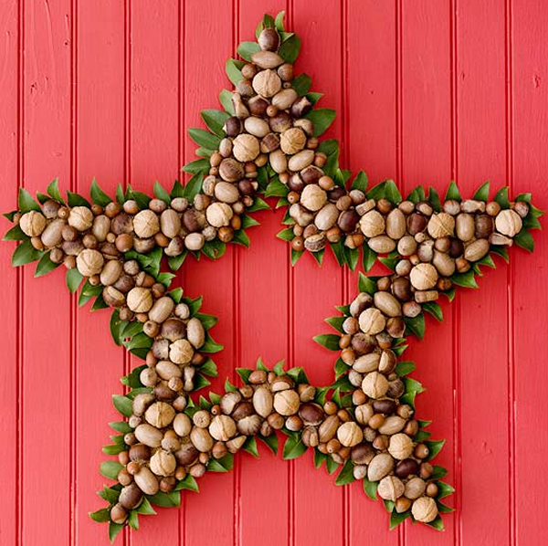 Green Christmas Wreath Ideas For Door Decorations: christmas wreath decorations