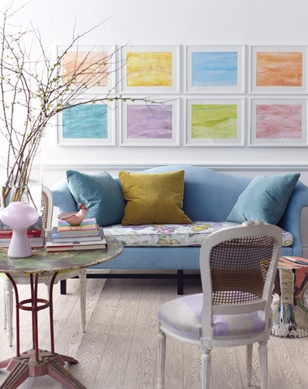 Cool And Amazing Pastel Living Room Decorating Ideas