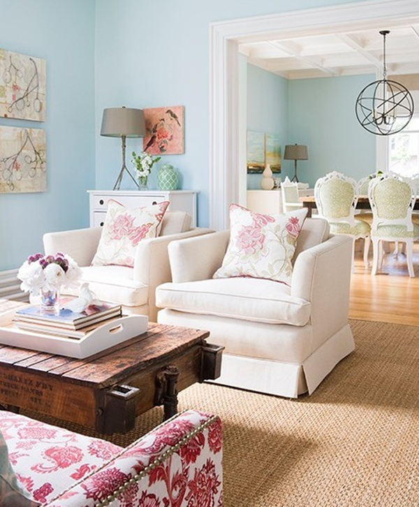 Cool Living Room Colors: Colorful-pastel-living-room-interior-design