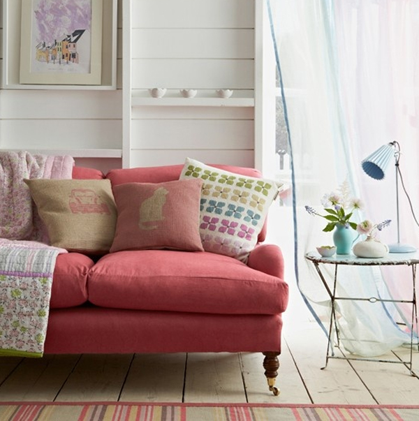 Cool and amazing pastel living room with purple color - Pastel living room colors ...