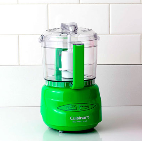 Colorful Green Kitchen Appliances