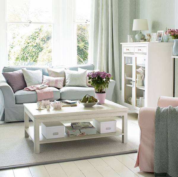 Cool Living Room Colors: 20 Cool And Amazing Pastel Living Room Ideas