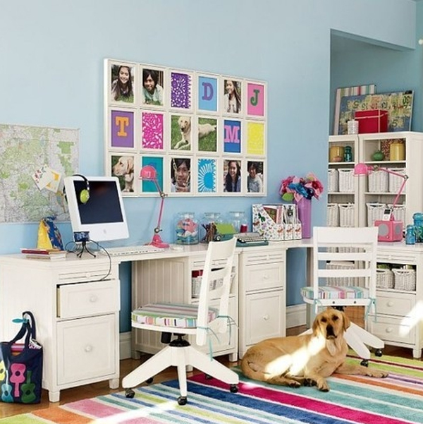 Cute and modern home office ideas for Funky office designs