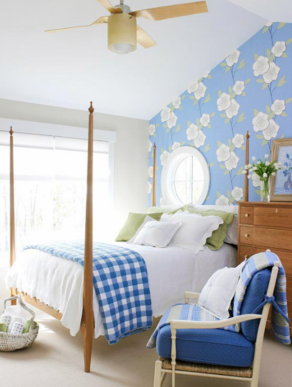 cool floral bedroom decorating ideas 20 Floral Bedroom Ideas with Wallpaper Theme