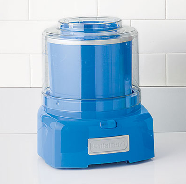 cool kitchen appliances with blue ice cream maker 15 Cool and Colorful Small Kitchen Appliances