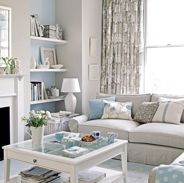 Gallery of 20 Cool and Amazing Pastel Living Room Ideas