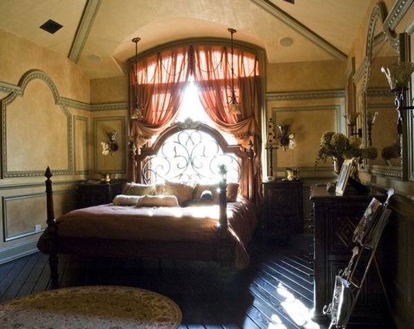 Elegant Gothic Home Decor: Stylish-and-elegant-gothic-bedroom-design-ideas
