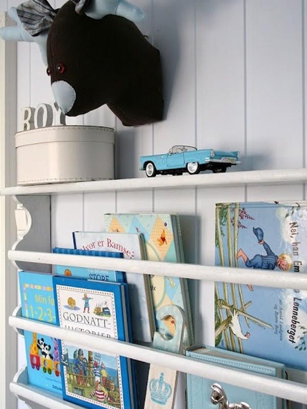 Kids Room Bookshelf Idea on Minimalist House Design