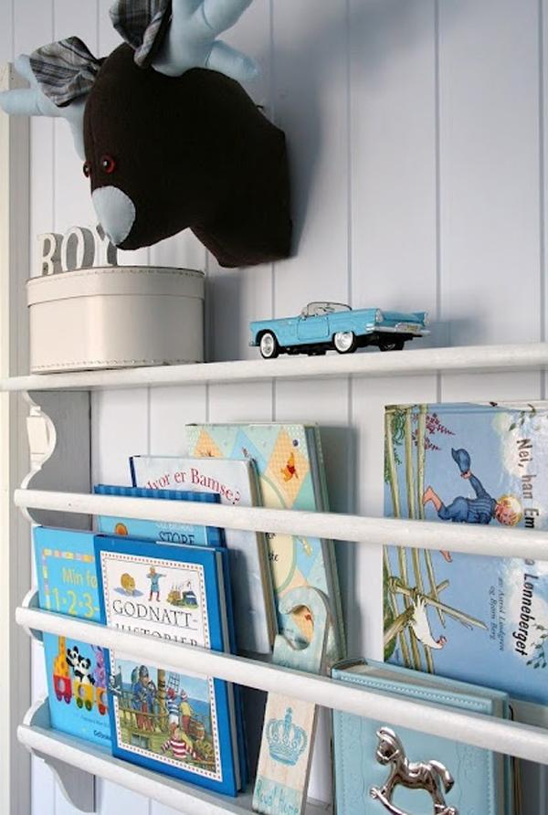 Gallery of 10 Cute Minimalist Bookshelves For Kids Rooms