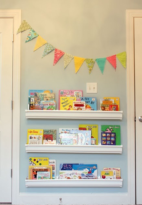 Minimalist Classroom Book ~ Cute minimalist bookshelves for kids rooms home