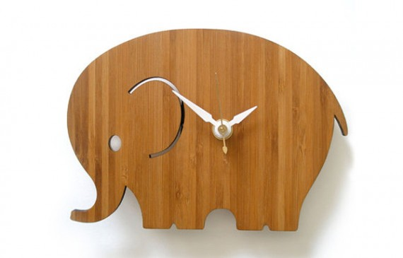 wooden clock design ideas