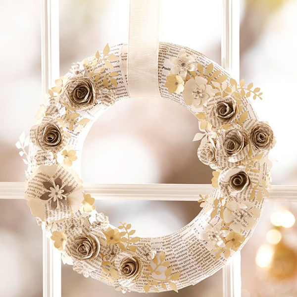 20 Fresh And Colorful Christmas Wreath For Door