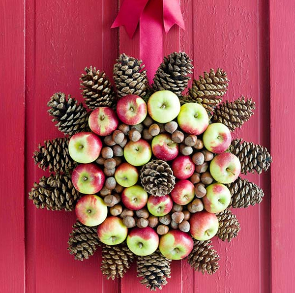 gallery of 20 fresh and colorful christmas wreath for door decorations