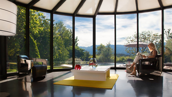 15 Collection of Modern Glass Veranda by OpenSun | Home Design And ...