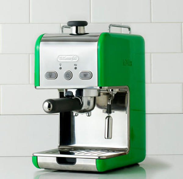 Cool And Colorful Green Kitchen Appliances