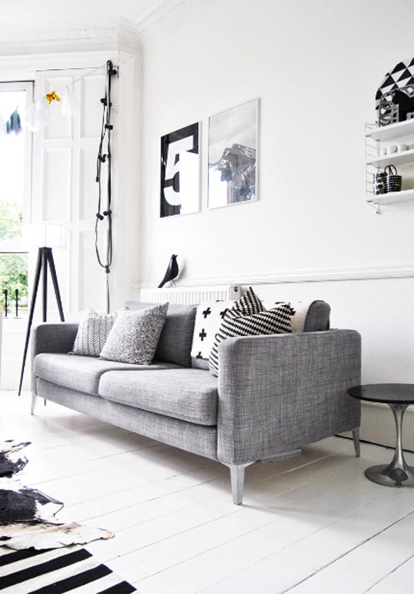 Inspiring white living room design best collection 2013 for Best living room designs 2013