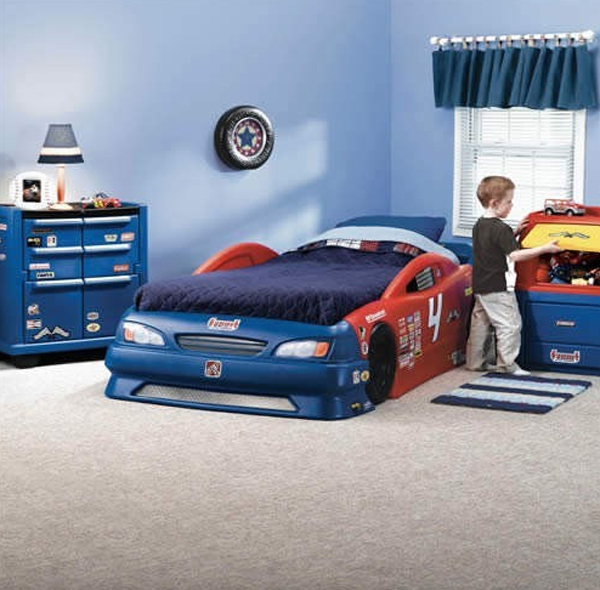 kids bedroom set with cars themed : kids bedroom set with car design ideas from homemydesign.com size 600 x 590 jpeg 237kB