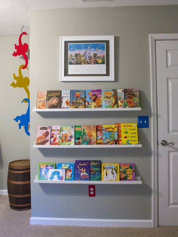 Gallery Of  Cute Minimalist Bookshelves For Kids Rooms