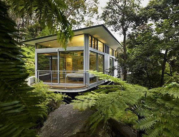 Luxury tree house design ideas for Luxury home designers architects