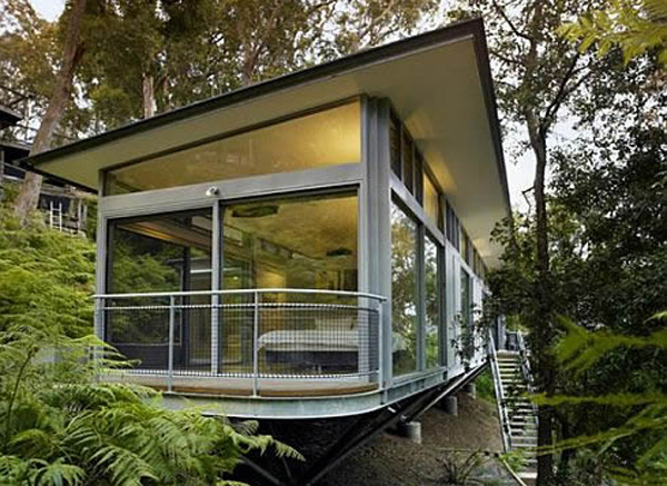 Luxury tree house decorating by utz sanby architects - Luxury houseplans ideas ...