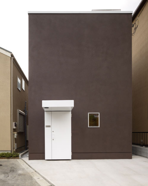 minimalist home design in japanese architecture Small and Minimalist Home Design   35.47 Square Meter
