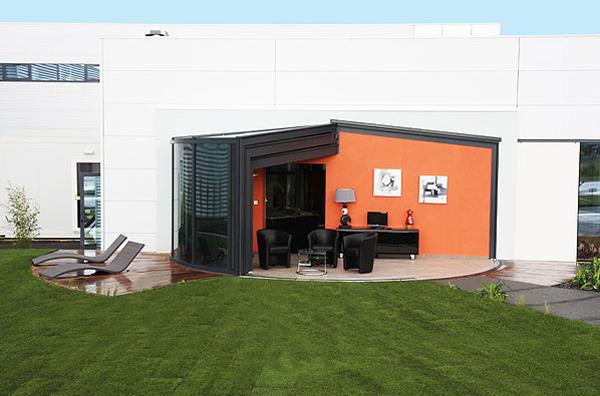 15 collection of modern glass veranda by opensun home - Cerramientos de casas ...