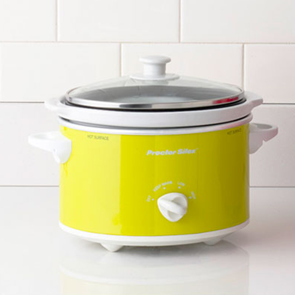 modern kitchen appliances with yellow cooker 15 Cool and Colorful Small Kitchen Appliances