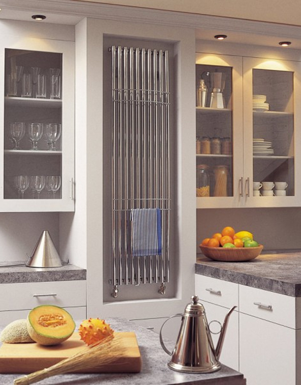 Luxury and modern kitchen radiators by bisque home for Kitchen cabinets 700mm